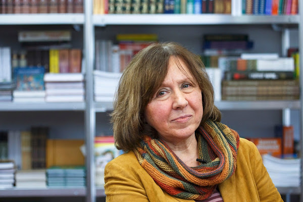 Svetlana Alexievich, a Belarussian journalist and prose writer, Wins Nobel Prize in Literature - Official Website - BenjaminMadeira