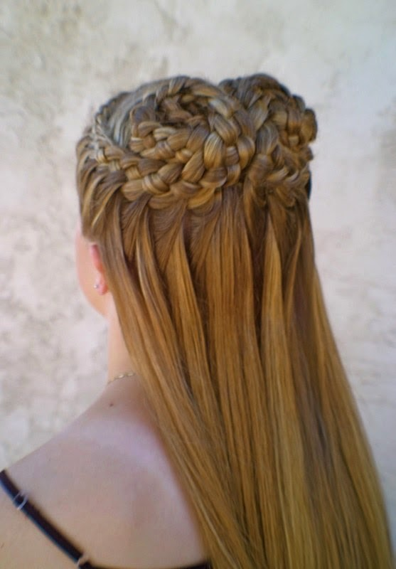 Taking Braids To Epic Levels The Haircut Web