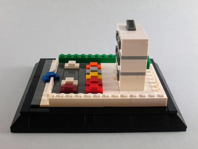 MOC LEGO micro escala Edifício Administrativo