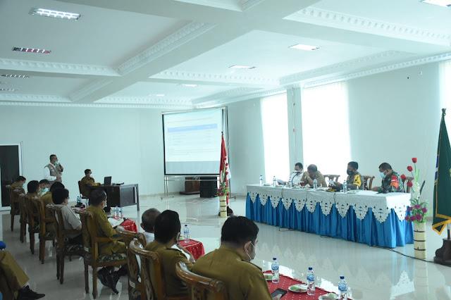 Satgas Covid-19 Kota Tebingtinggi Gelar Rapat Konsolidasi Pencegahan Penyebaran Covid-19