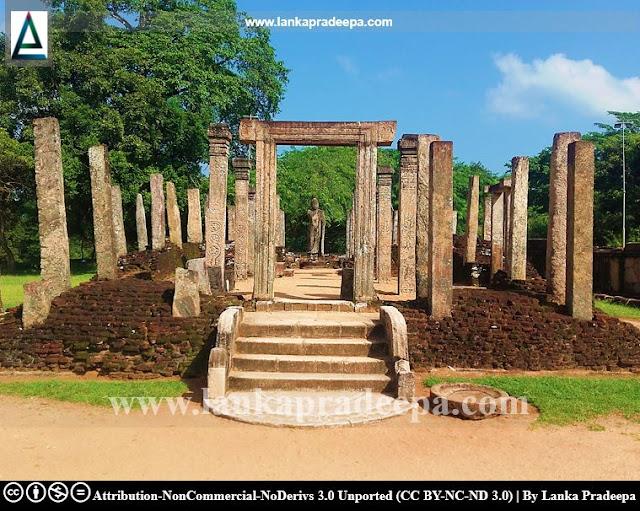 Polonnaruwa Atadageya, Sri Lanka