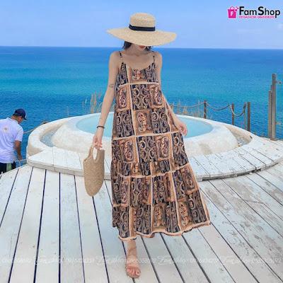 Shop bán váy maxi đi biển tại Sơn Tây
