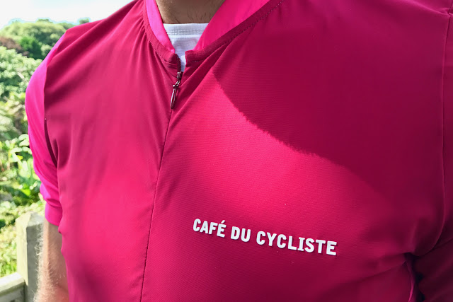 Cafe du Cycliste Marine Lollipop Short Sleeve Jersey