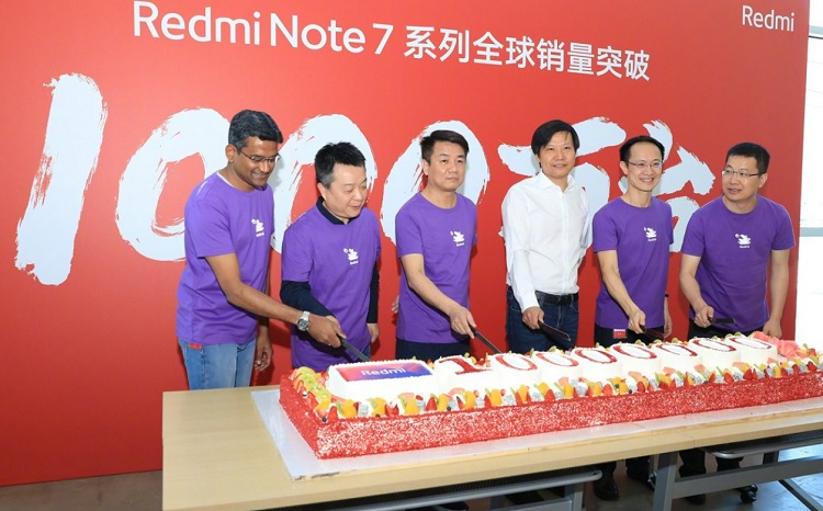 Redmi Note 7 Sells 10 Million Units Globally