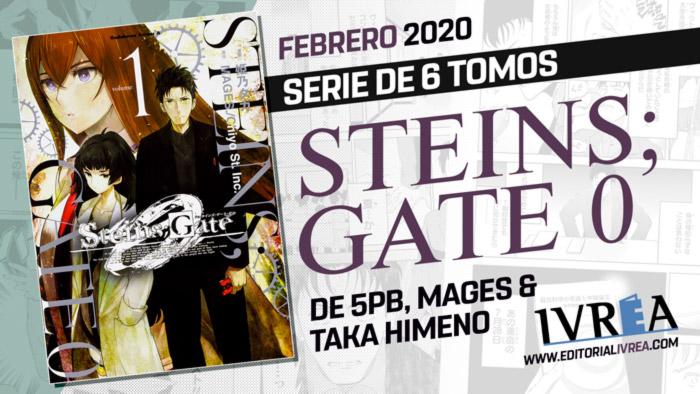 Steins;Gate 0 manga - Ivrea