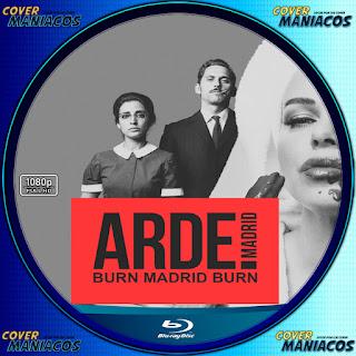 GALLETA LABEL ARDE MADRID 2018[COVER BLU-RAY]