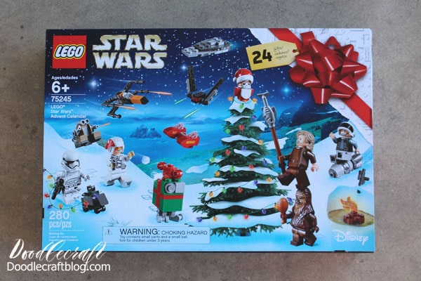 Lego Advent Calendars Countdown to Christmas! Star Wars, Harry Potter and Lego City Advent Calendar sets.