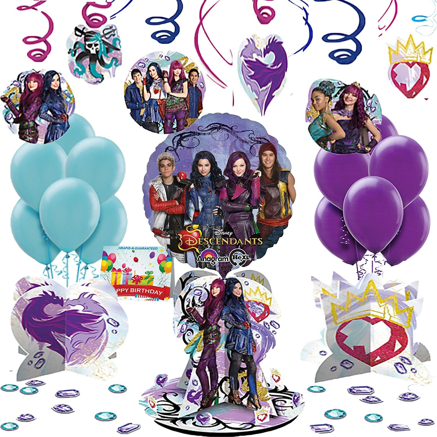 Please Plan My Party Disney Descendants 2 Party Ideas