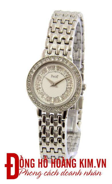 Đồng hồ đeo tay nữ Piaget dây inox giá rẻ dưới 1 triệu