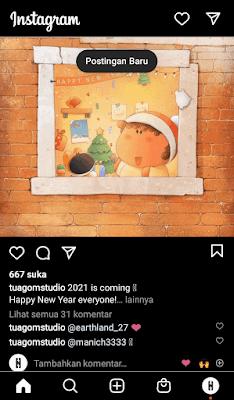 Mengaktifkan Fitur Dark Mode Instagram