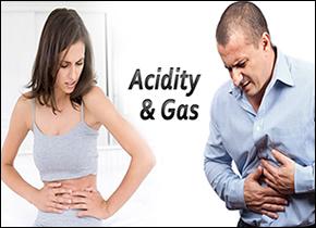 gas, acidity, indigestion