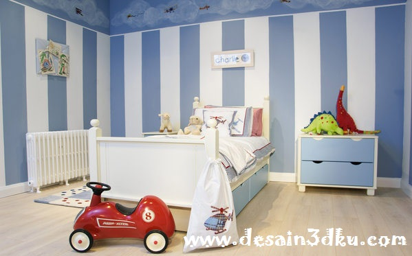 Desain Interior Minimalis Kamar Tidur Anak