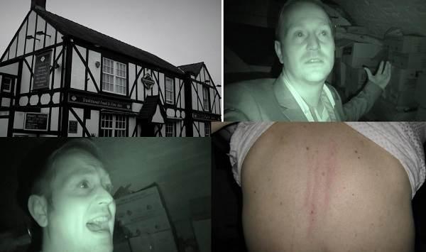 Ένα φάντασμα επιτέθηκε σε ερευνητή  και άφησε μακριές γρατσουνιές στην πλάτη του όπως λέει ο ίδιος video