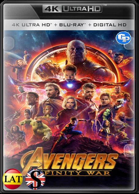 Los Vengadores: Infinity War (2018) 4K UHD LATINO/INGLES