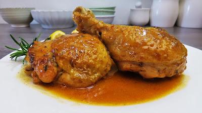 Piletina u Umaku od Piva i Mediteranskog Bilja | Mediterranean Herb Chicken with Beer Sauce