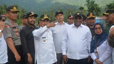 Wakil Menteri PU&PR Berkomitmen Untuk  Bantu Membenahi Solsel  Pasca Banjir
