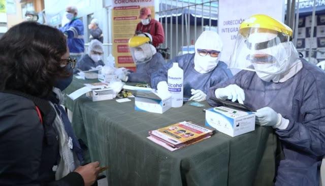 Focos de contagio Perú mercados y paraderos