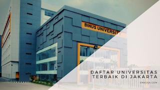 Daftar Universitas Terbaik di Jakarta