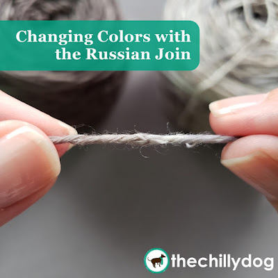 Knitting Video Tutorial: Invisibly change yarn colors in your knitting and crocheting with the Russian join and eliminate those pesky yarn tails