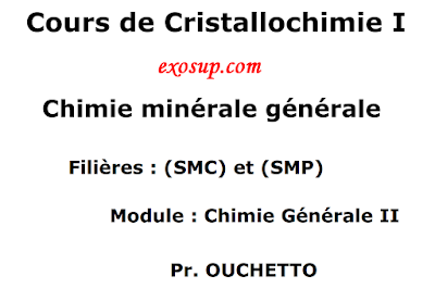 Chimie minérale générale
