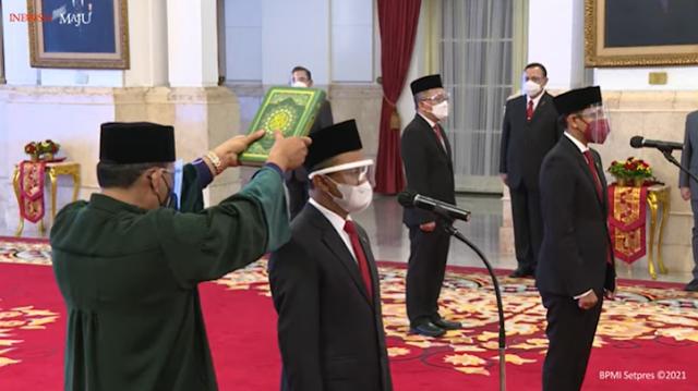 Bahlil Lahadalia dan Nadiem Makarim Jadi Kepala BKPM dan Mendikbudristek