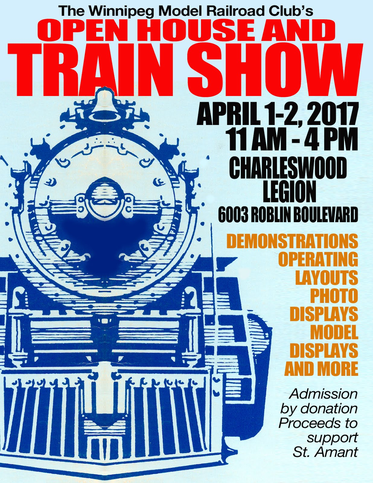 WMRC'S ANNUAL OPEN HOUSE AND TRAIN SHOW