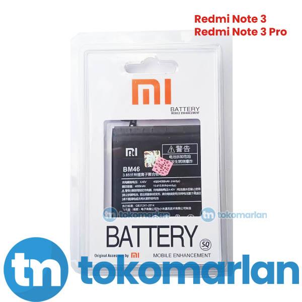 Baterai Xiaomi Redmi Note 3 - Note 3 Pro BM46 Original OEM