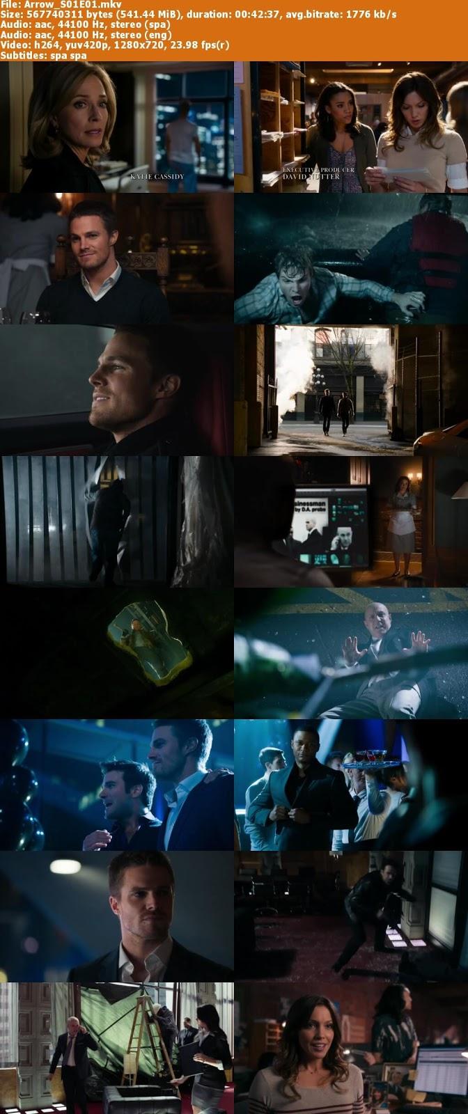 Capturas Arrow serie Mega