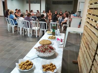 Cras de Miracatu realiza a 1ª aula noturna do curso de culinária para festa