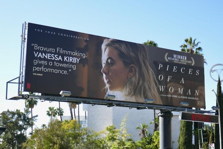 Pieces of a Woman film FYC billboard
