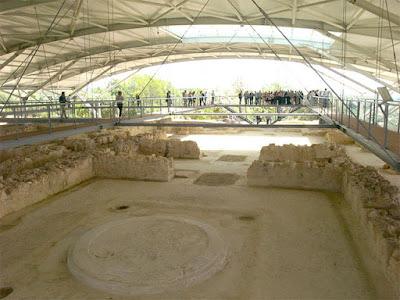 Εγκαίνια του στεγάστρου στον αρχαιολογικό χώρο του Ανακτόρου του Νέστορος
