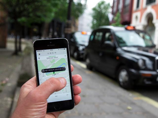 Uber app - Edem boni