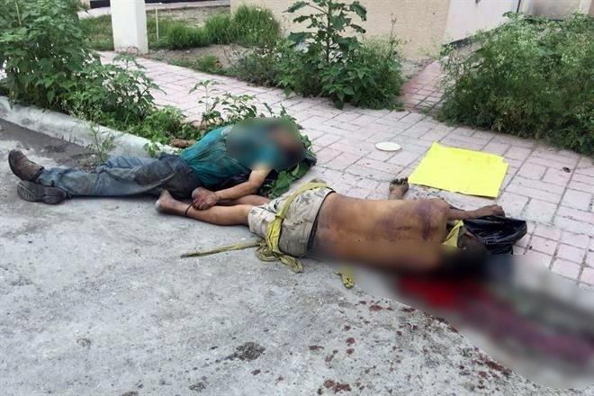 Grupo Escorpiones levanta, ejecuta y tira a dos informantes del Grupo Metros con Narcomensaje en Reynosa