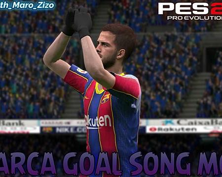 PES 2017 MZ Barcelona Goal Song