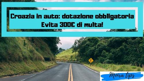 dotazione auto croazia