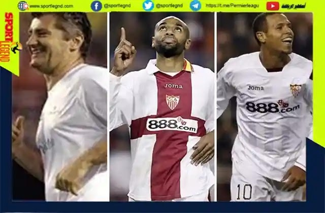 كانوتي,دافور سوكور,لويس فابيانو,الهداف التاريخي لاشبيلية,نادي اشبيلية الاسباني