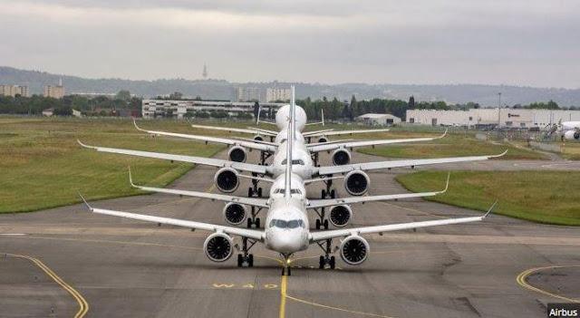 Ayah Asal Arab Ini Tak Sengaja Belikan Anaknya 2 Pewasat Air Bus A350-1000 Sebagai Hadiah Ulta