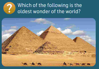 Which of the following is the oldest wonder of the world?