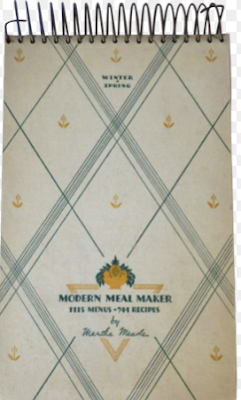 Modern Meal Maker: 1115 Menus, 744 Recipes