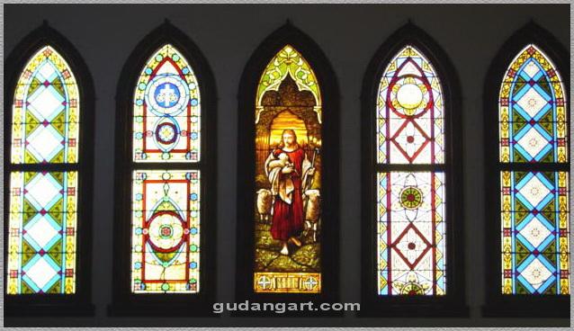 Desain Jendela Gereja Gudang Art Design