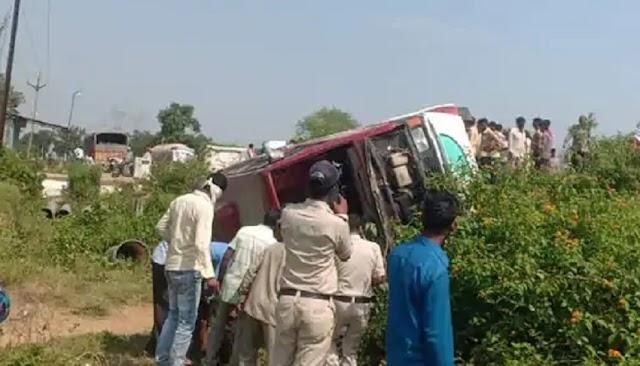 दुर्गा अष्टमी पर हुए चार बड़े हादसे, 52 लोग घायल- Satna News