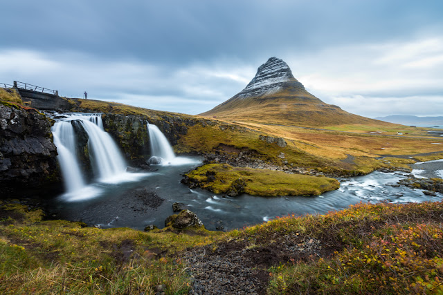 Day trips to Kirkjufell are one of many Iceland road trip advantages