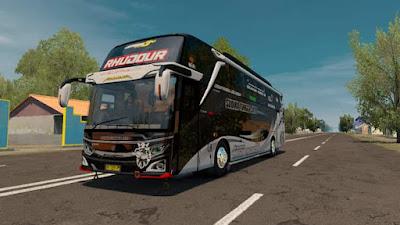 Skin Rhudour for Jetbus 3 edit Scania No Facelift ETS2 1.30-1.40
