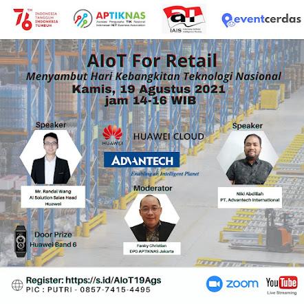 Webinar AIoT for Retail - 19 Agustus 2021