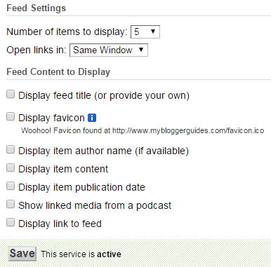 How To Activate Feedburner Recent Posts Widget