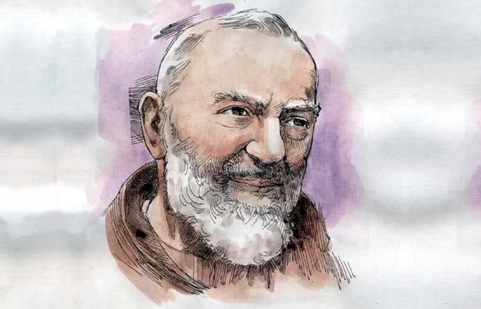 L'immagine di Padre Pio nel portafogli