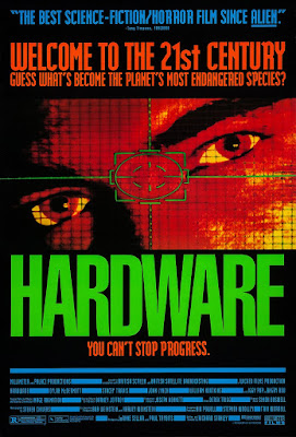 Póster película Hardware, programado para matar