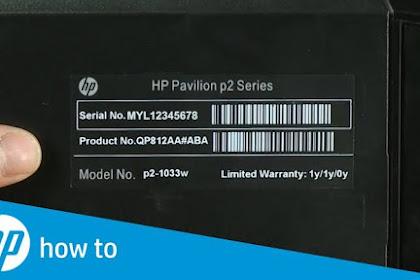 Cara Mengecek Serial Number PC atau Laptop
