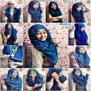 model jilbab pesta syari