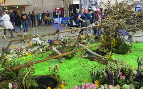 Philadelphia Flower Show 2019- The Four Seasons spring